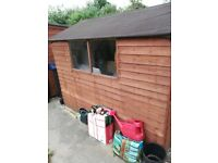 8ft x6ft apex roof garden shed 6 months old