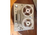 Tandberg Model 64, Stereo four track Reel 2 Reel tape deck. Vintage 60's audio Hi Fi.
