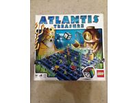 2 Lego Board Games - Minotaurus and Atlantis - 100% Complete / Hardly used / Excellent condition