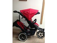 Excellent condition Phil and Teds Navigator double stroller.