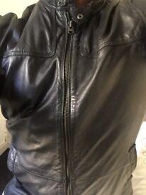Ted baker desighner leather jacket