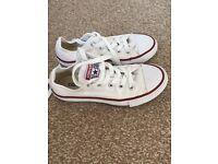 White converse size 11