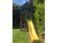 Jungle Gym - approx 14 ft high with 3 meter Slide