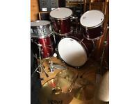 Precision Percussion 5pc full size Drum Kit