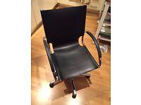 Leather Swivel Desk Chair