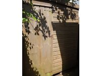 Shed for repair / firewood