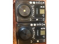 Dj Cd Decks Citronic MPCD-S3 (with scratch ft) or a bundle! With mixage DJ interface!