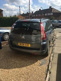 Citroen c4 grand Picasso 1.6 diesel 2008. For sale or swap. £3.000ono