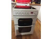 Hotpoint electric cooker 5 year old 60cm