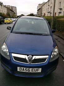 Vauxhall Zafira with mot and full service
