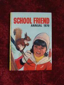 School Friend Annual 1970 £5