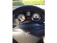 Blue Peugeot 207 Sport. 3 Dr. Low milage for age.