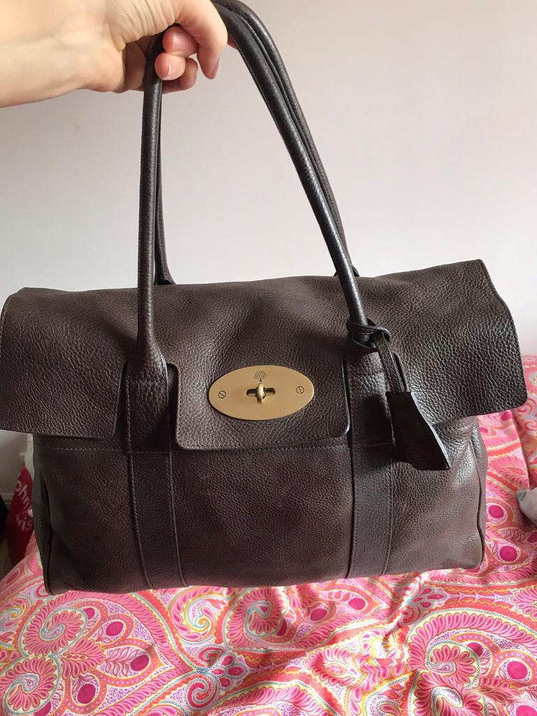 23860c870268 ... official mulberry bayswater chocolate brown reduced in rainham kent  gumtree af7e2 12fb1