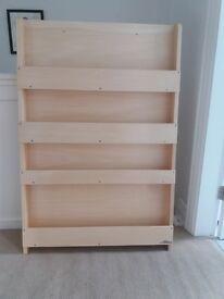 childrens tidy bookcase