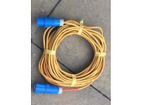 Caravan/camping hookup cable