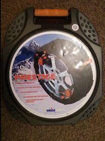 Weissenfels Clack & Go Prestige M44 snow chains Size 12 - BNIB