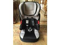 Highback booster car seat