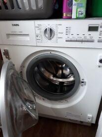 AEG integrated washer/dryer L61470WDBI