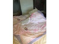 Toddler bed complete Set. Toddler bed mattress plus Duvet set plus extra also fit cotbed