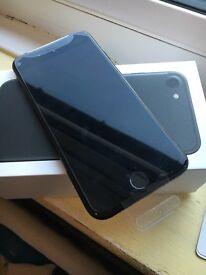 Iphone7 jet black 128gb brand bew
