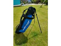 Dunlop Golf bag with stand