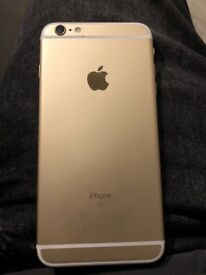 Used Apple IPhone 6s Plus 128GB Champagne Gold.No scratches.Case and tempered glass always used