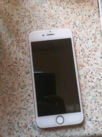 Rose gold 6s apple iPhone 16gb