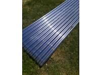 GRP roof sheets