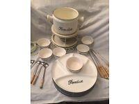 6 piece fondue set