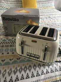 Breville 4 slice toaster in great working condition