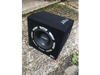 "Vibe Car Subwoofer 10"" 1050w Active 1 day old sub spl car speakers alpine jbl"