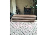 10 x Hardboard sheets - 122cm (L) x 46cm (W) usually £7.99 per sheet