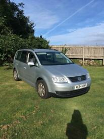 VW TOURAN New tyres, new cam belt, MOT til 22nd June 2019 7 seater