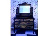 Antique Edwardian Dresser