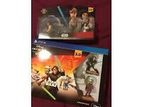 PS4 Disney infinity STAR WARS STARTER PACK AND PLAY SET. UNWANTERD GIFT UNOPENED. NEW £100 sell £65