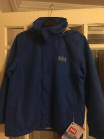 Boys age 8 Helly Hansen Coat Brand New