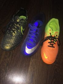 Size 7 Astro turf football trainers