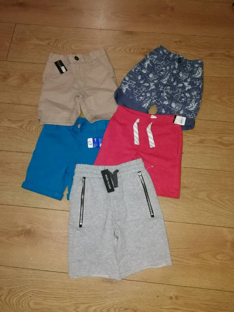 Collection of boys shorts all unused most with labels £7 includes ...