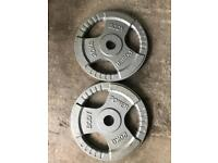 20Kg x 2 Olympic Weights