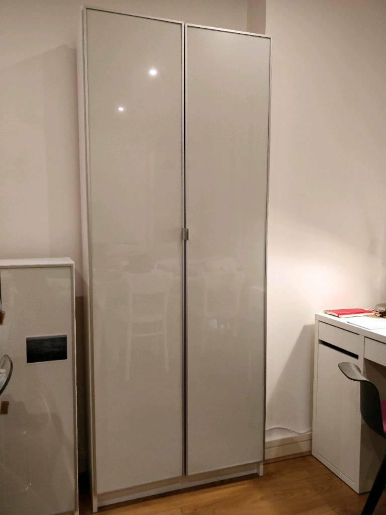 Bookcase With Glass Doors Ikea Billy In Mile End London Gumtree