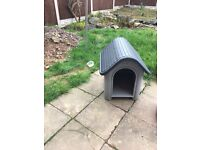 Small cat or dog outdoor house