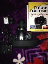 Nikon D40 digital SRL