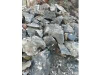 Grey stones for rockery/garden