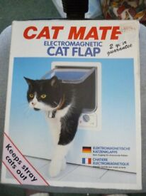 Cat Mate cat flap new electromagnetic.