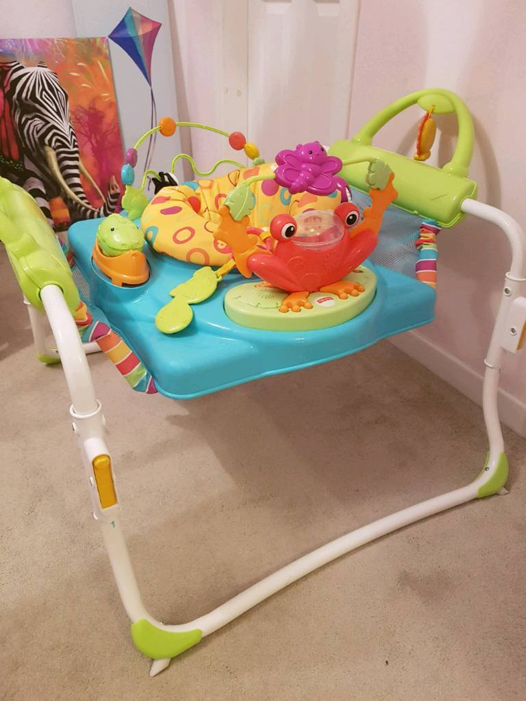 6f1c2f74b Fisher Price Jumperoo First Steps bouncer walker