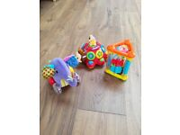 Activity toys £15 for 3