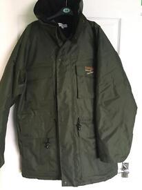 Tracker jacket size medium as new - - - - -- -