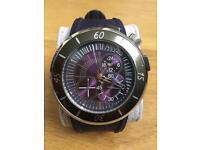Kenzo Ryokou - Men's Silicone Strap Chronograph Watch