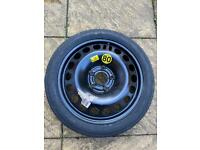 Spare wheel for Vauxhall Vectra C