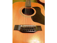 Guild Madeira A-12 12 String Acoustic Guitar Made in Japan swap / trade